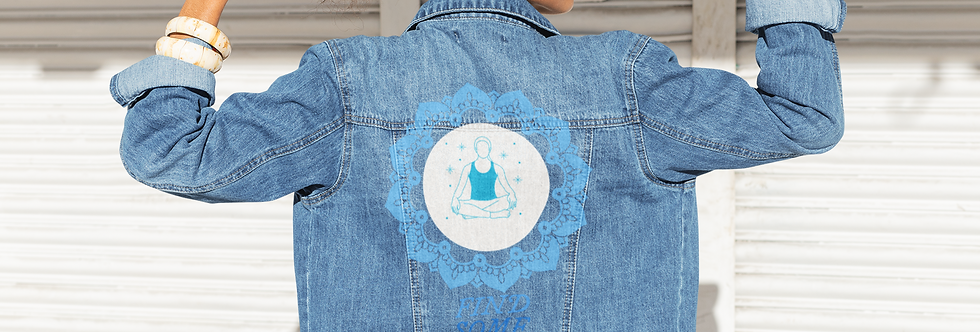 FIND SOME PEACE DENIM