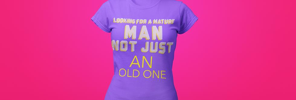 MATURE MAN T-SHIRT