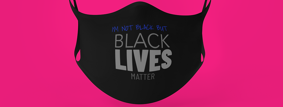 I'M NOT BLACK MASK