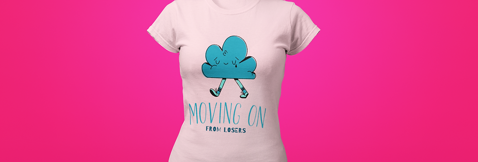 MOVING ON T-SHIRT