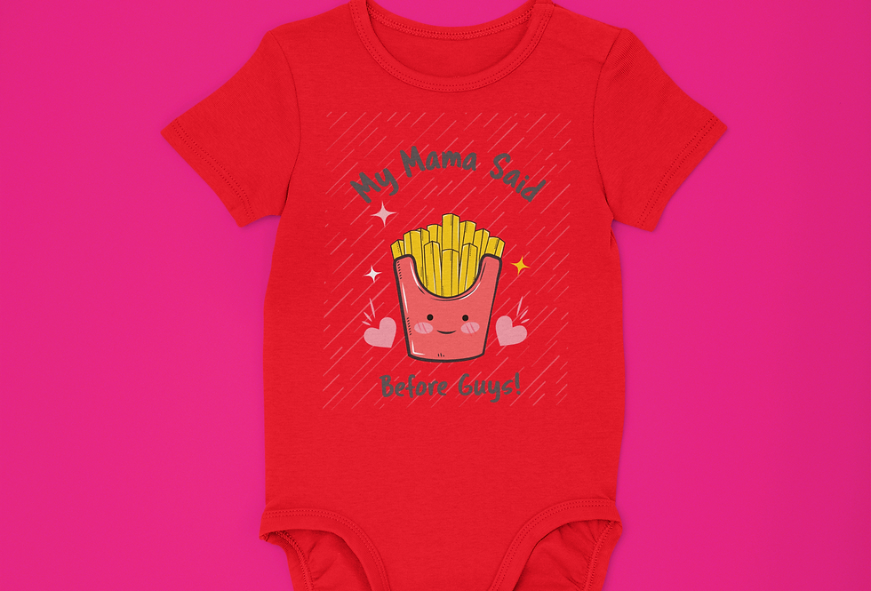 FRIES ONESIE