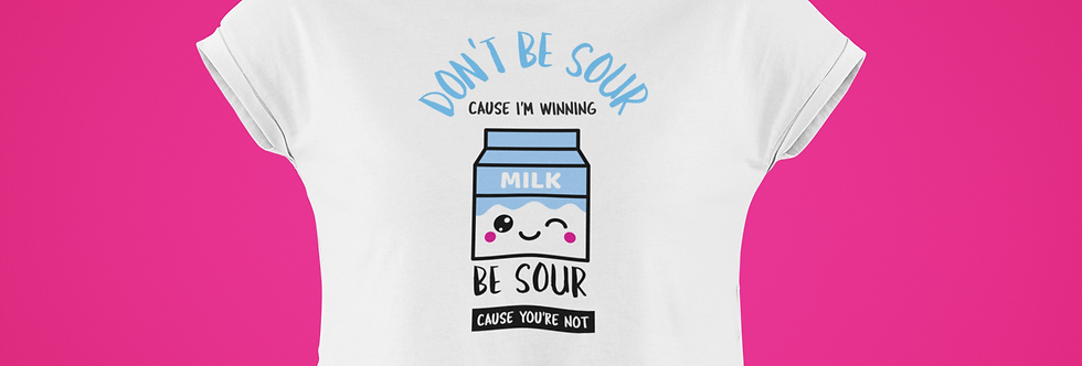 DON'T BE SOUR CROP TOP