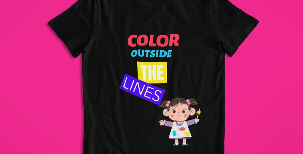 COLOR OUTSIDE KIDS T-SHIRT