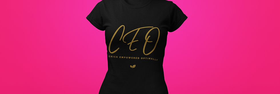 CEO CHICK T-SHIRT