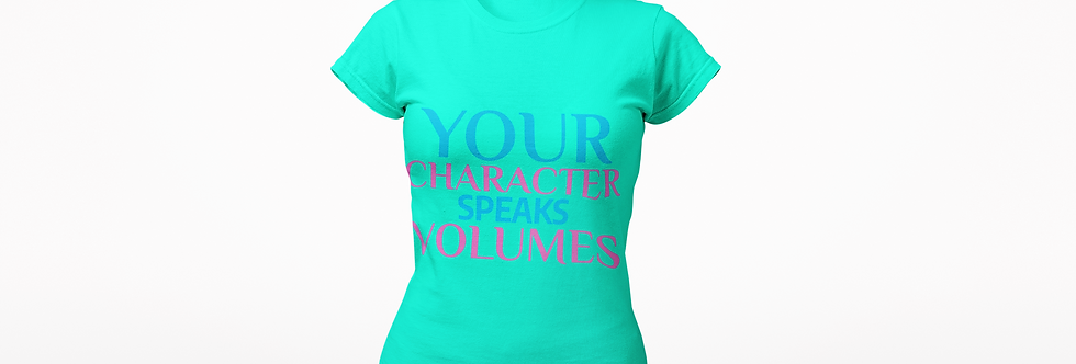 YOUR CHARACTER T-SHIRT