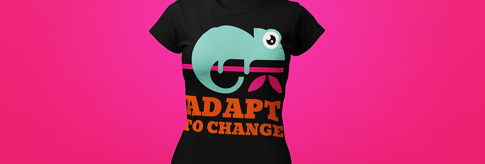 ADAPT TO CHANGE T-SHIRT