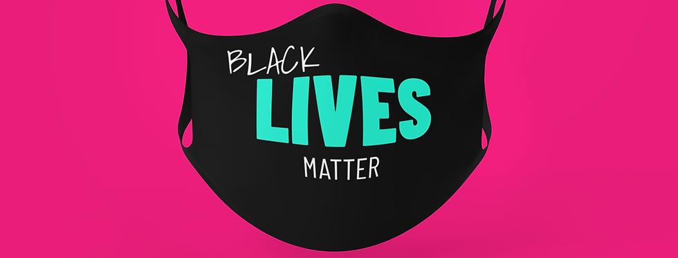 BLACK LIVES MATTER MASK MINT