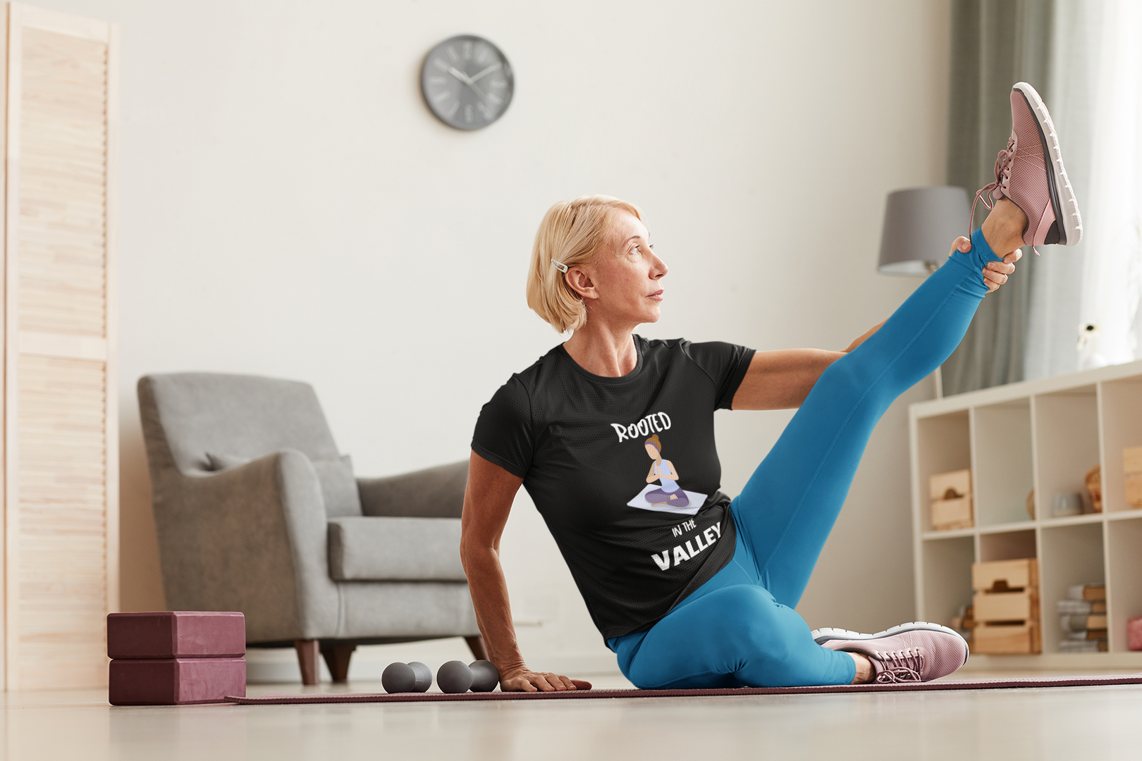t-shirt-mockup-of-a-woman-stretching-at-