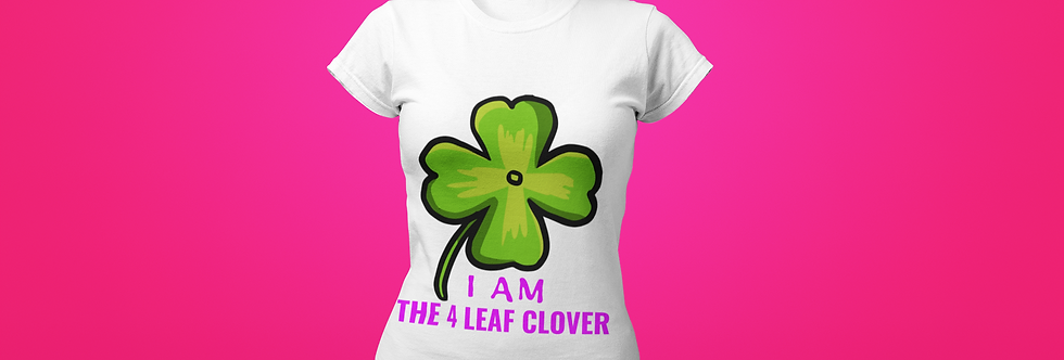 THE 4 LEAF CLOVER T-SHIRT