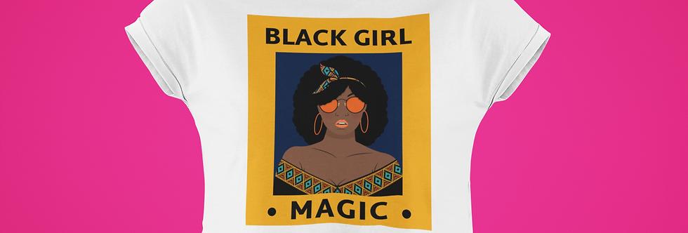 BLACK GIRL MAGIC CROP TOP