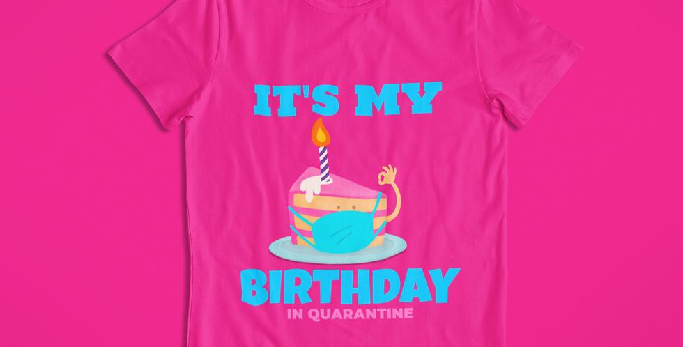 BIRTHDAY CAKE  T-SHIRT KIDS