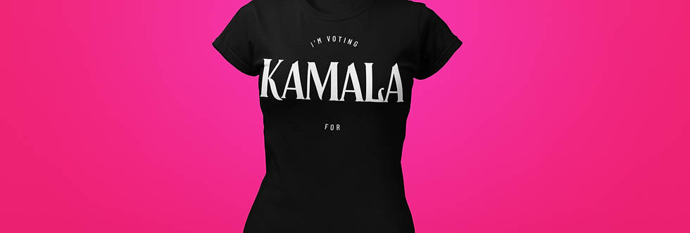 I'M VOTING FOR KAMALA T-SHIRT