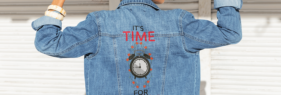 TIME FOR CHANGE DENIM