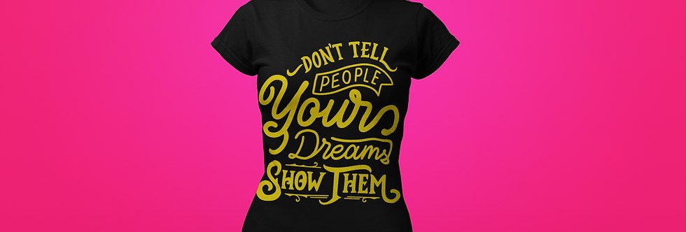 DON'T TELL PEOPLE T-SHIRT