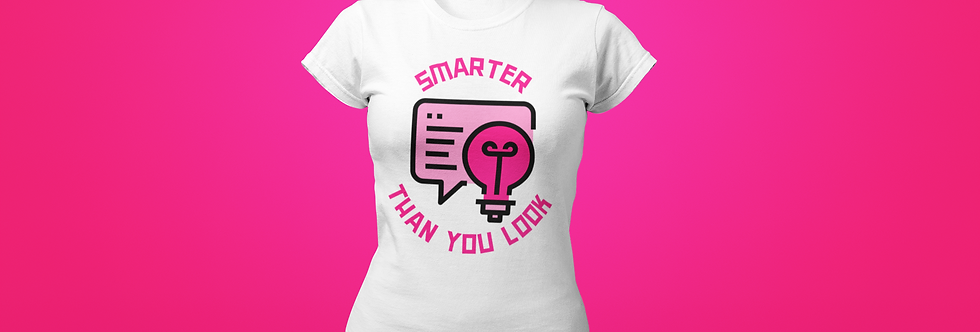 SMARTER THAN YOU LOOK T-SHIRT