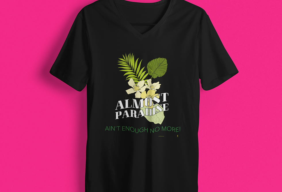 ALMOST PARADISE V-NECK
