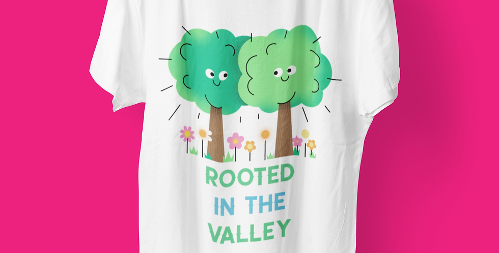 ROOTED (TREES)T-SHIRT BACK