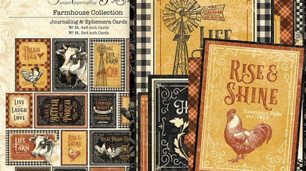 Farmhouse Ephemera & Journaling Cards