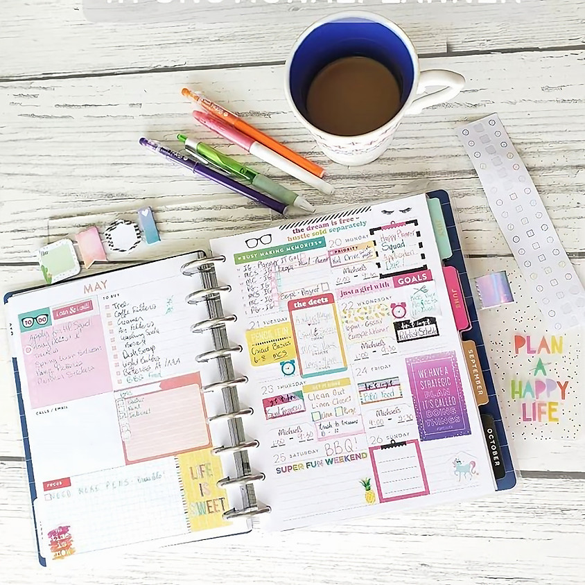 Planner & Craft Virtual Party