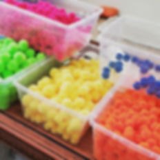 Who loves sorting craft supplies as much