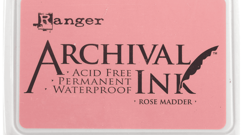 Archival Ink™ Pads Rose Madder