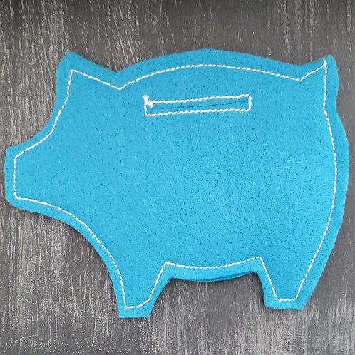 Felt Pocket Piggy Bank