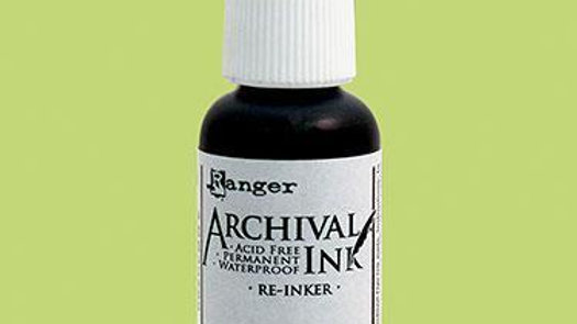 Archival Ink™ Pads Re-Inker Sea Grass, 0.5oz