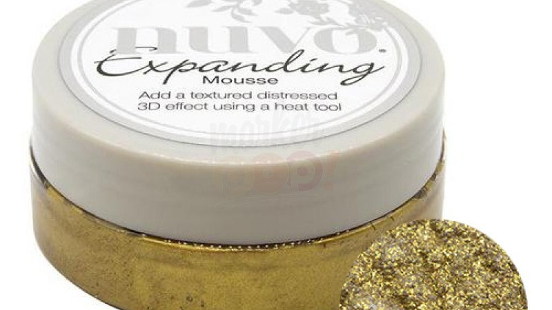 Nuvo Expanding Mousse - Tuscan Gold