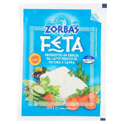 FETA  CHEESE DOP ZORBAS          200 GR