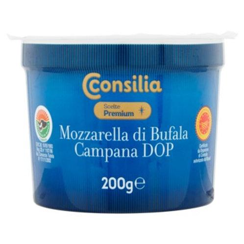 BUFFALO MOZZARELLA CHEESE CONSILIA  KG 0,200