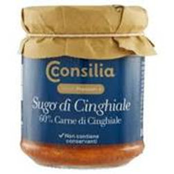 SUGO DI CINGHIALE - WILD BOAR SAUCE               180 GR