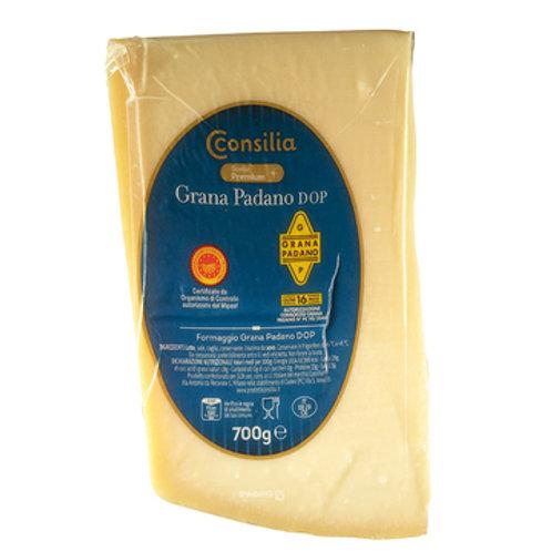 GRANA PADANO CHEESE CONSILIA 700 GR (APPROX.)