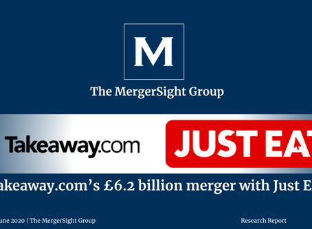 Takeaway.com's £6.2 Billion Merger with Just Eat