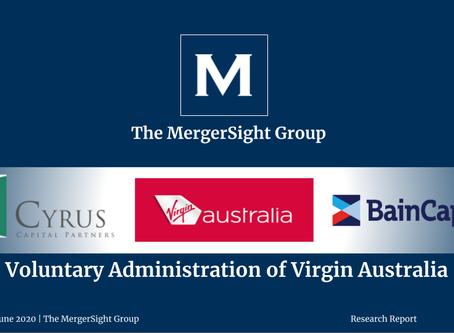 Voluntary Administration of Virgin Australia