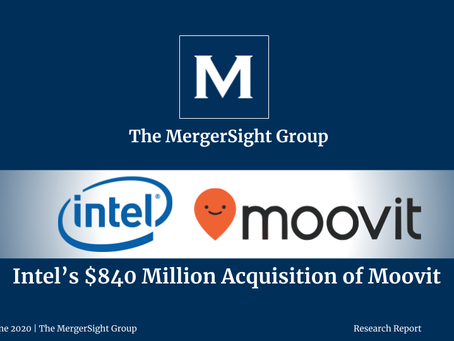 Intel's $840 Million Acquisition of Moovit
