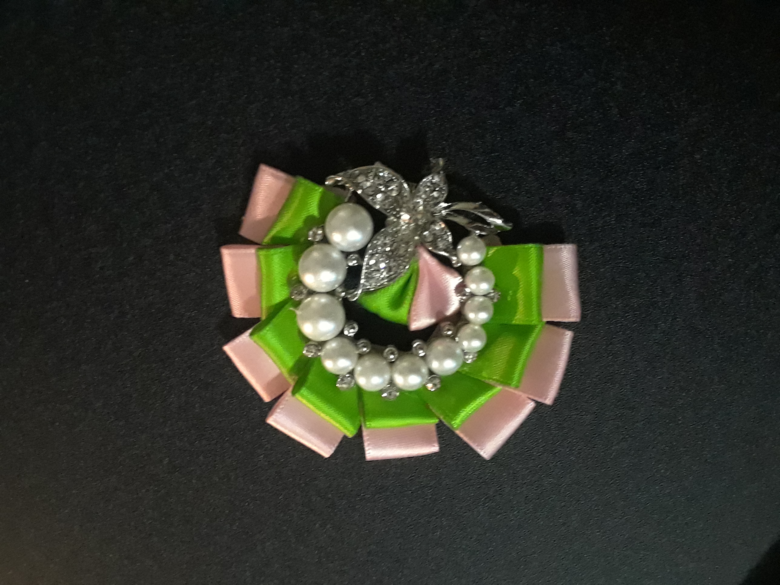 1st lady half brooch