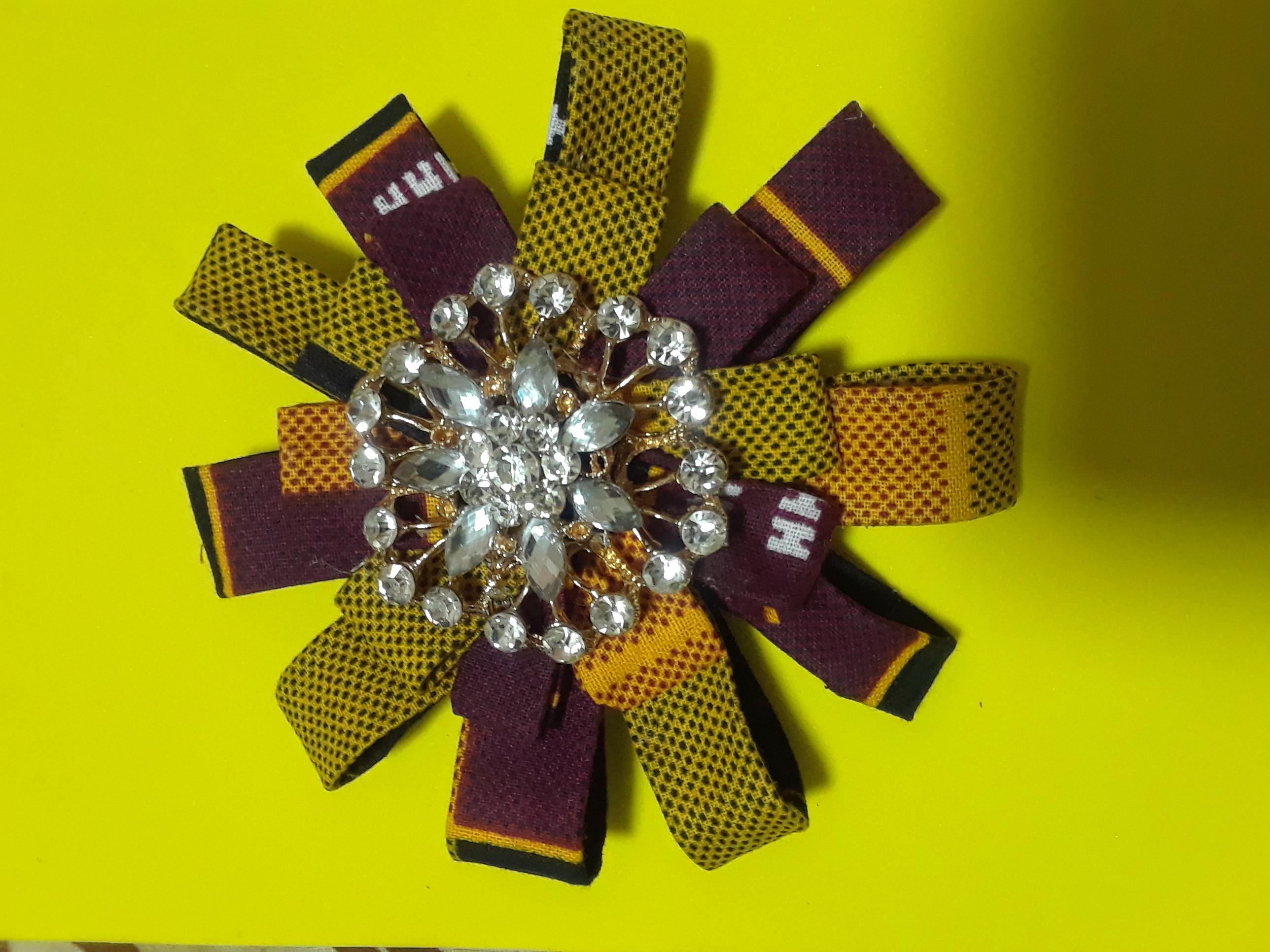 Fabric daisy