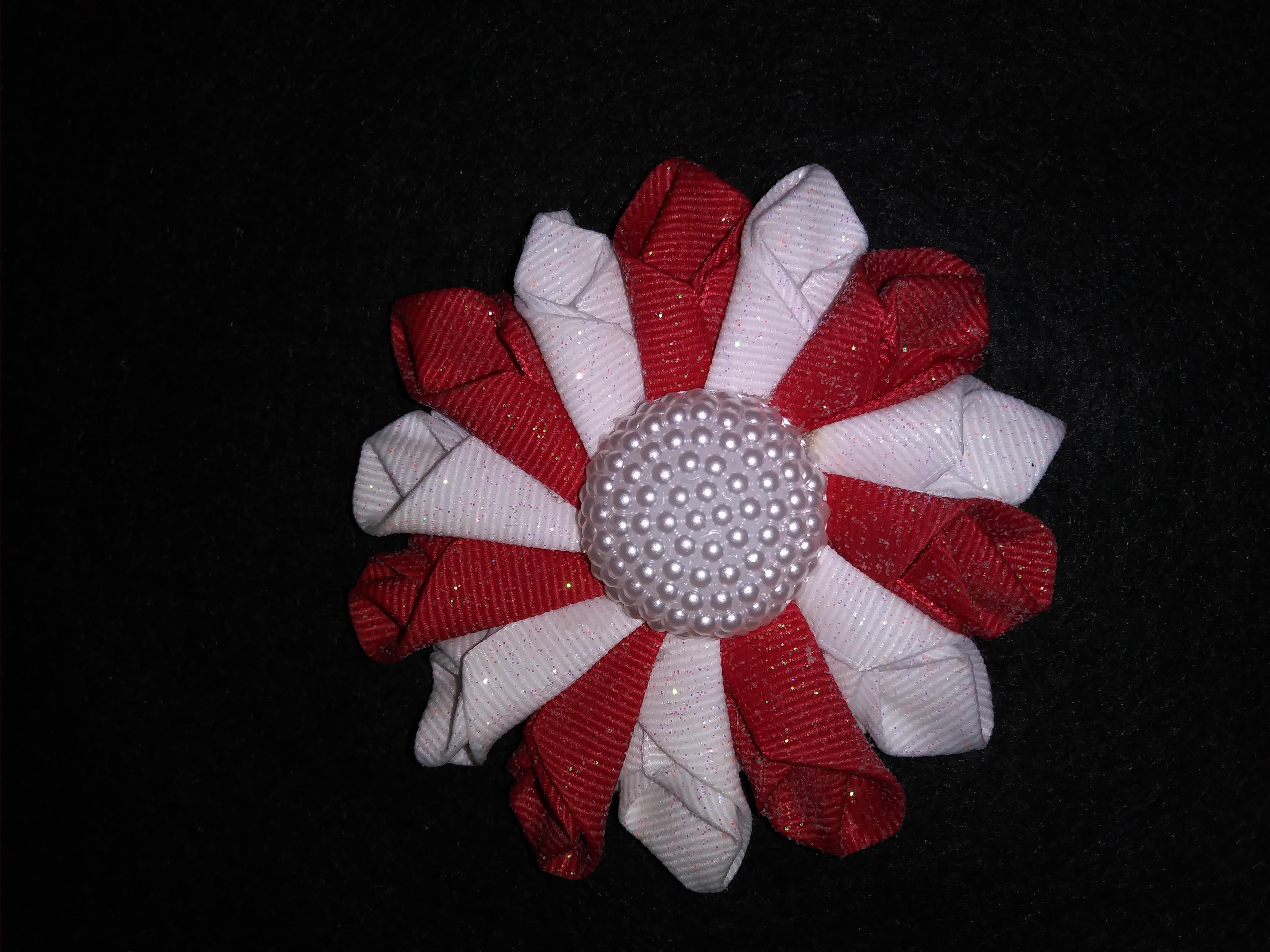 R/W rose fold