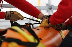 Industrial rescue training