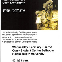 The Golem, by P.Wegener