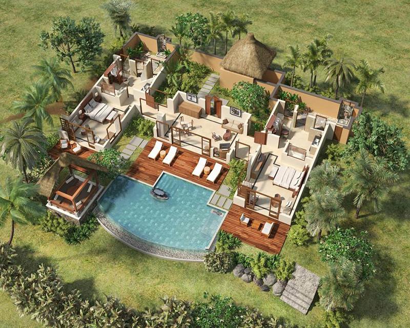 Double Suite Pool Villa