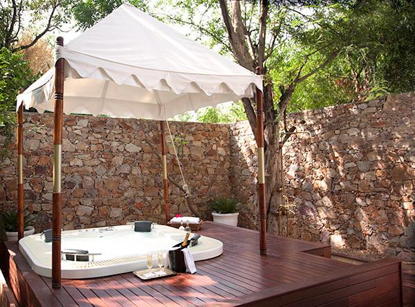 Luxury Tented Suite Jacuzzi
