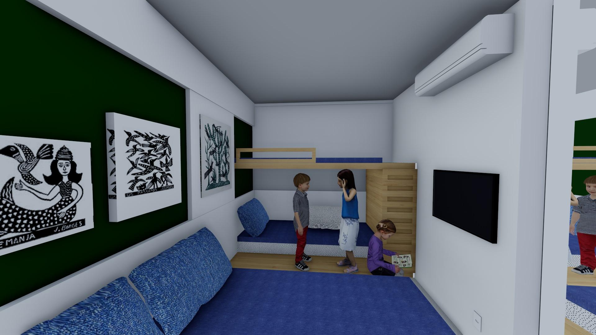 quarto - tablado madeira