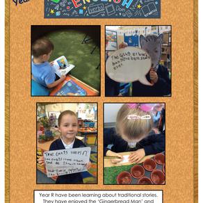 Writing across the school - Term 5