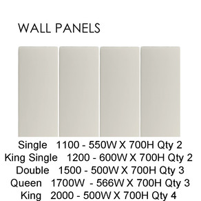 WALL PANEL DIMENSIONS