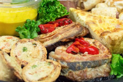 Portobello Mushrooms and Mini Pot Pies