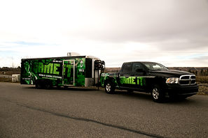 Truck And Gaming Trailer