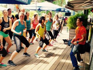 Zumba® Fitness im Biergarten Aachener Weiher am 16.7.2016 um 14:00 Uhr