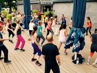 Zumba® Fitness im Biergarten Aachener Weiher Vol. 4 am 30.7.2016 um 14:00 Uhr.