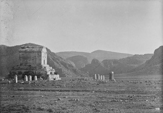 Mausoleum of Cyrus Photo Courtesy of the Freer Sackler Archives